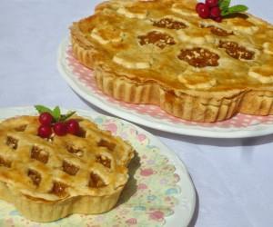 Pie de compota de manzana (Pastel)