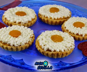 Tartaletas de melocotón