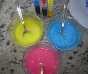Glaseado de colores Thermomix