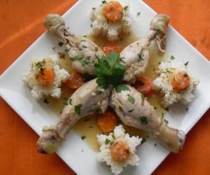 Muslos de pollo guisados Thermomix
