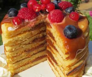 Tortitas americanas (De desayuno)