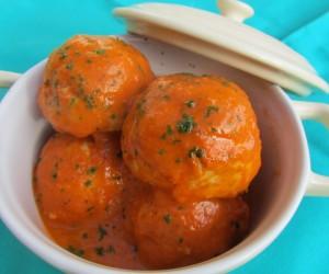 Albóndigas de pavo en salsa tomate Thermomix
