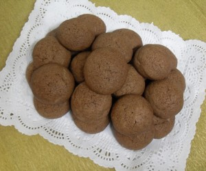 Galletas de chocolate Thermomix