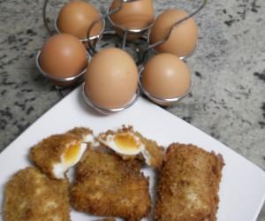 Huevos envueltos Thermomix