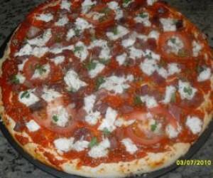 Pizza Margarita con Thermomix