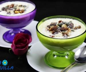 Arroz con leche egipcio