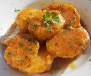 Patatas especiadas ligeras
