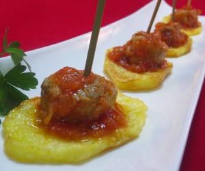 Solomillo o magro con tomate