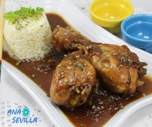 Jamoncitos de pollo teriyaki