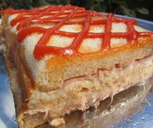 Pastel de sandwich