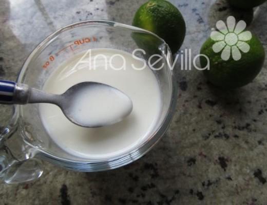 Cortar la leche con el zumo