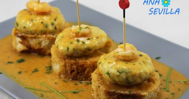 Hamburguesas de merluza en salsa