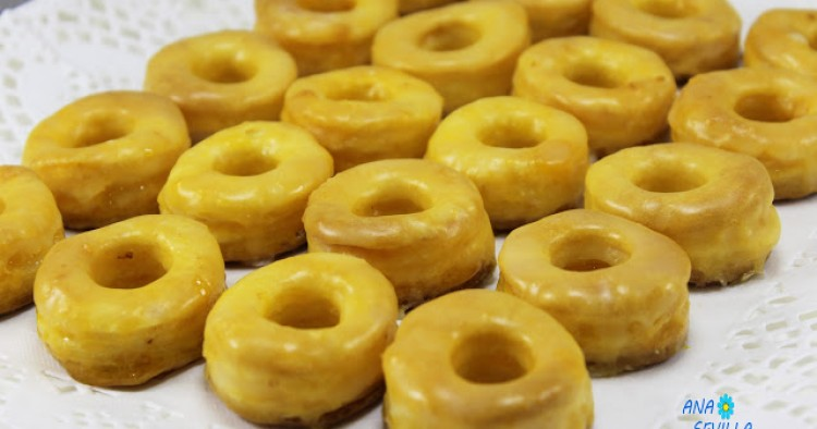 Rosquillas de yema