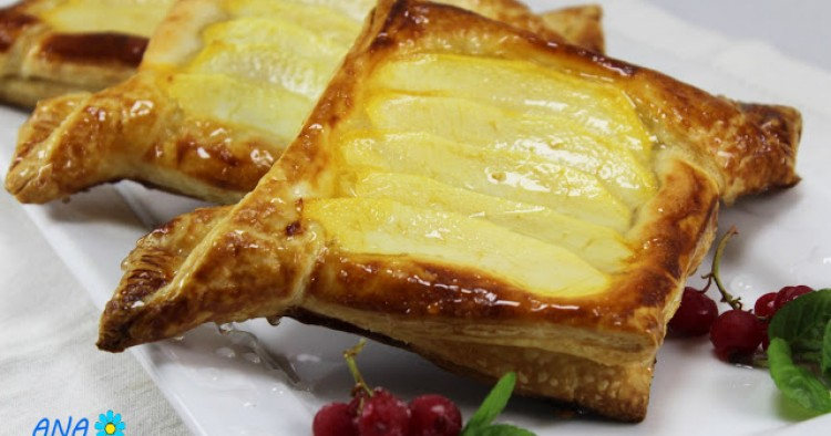 Tartaletas de almendra y manzana