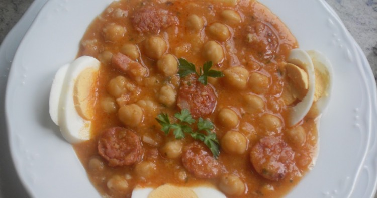 Garbanzos estofados