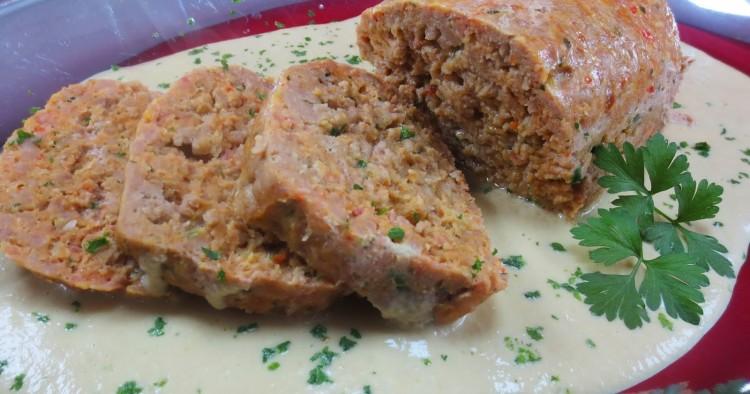 Rollos de carne en salsa de champiñones