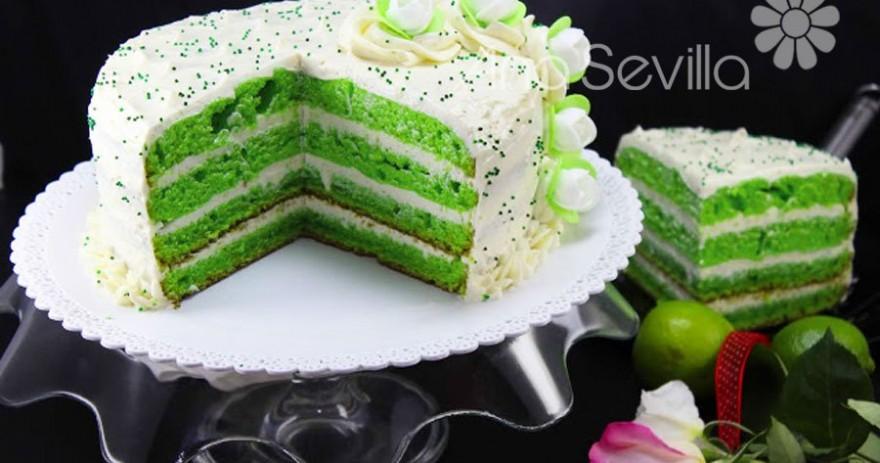 Tarta Green velvet