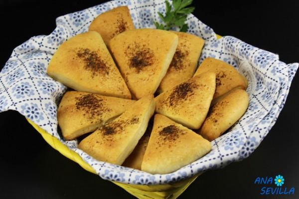 Pan de ajo Telepizza Ana Sevilla cocina tradicional