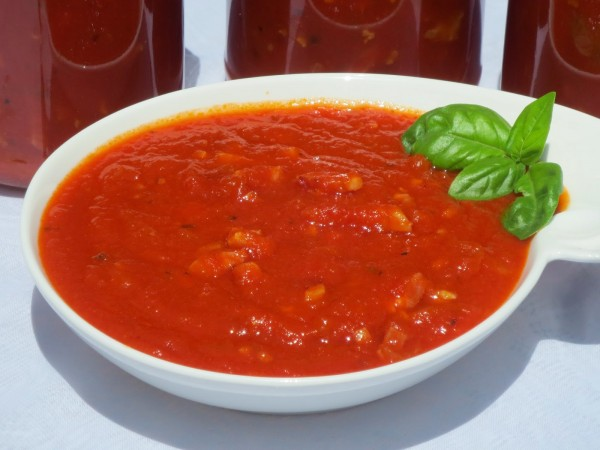 Salsa de tomate especial pasta olla GM