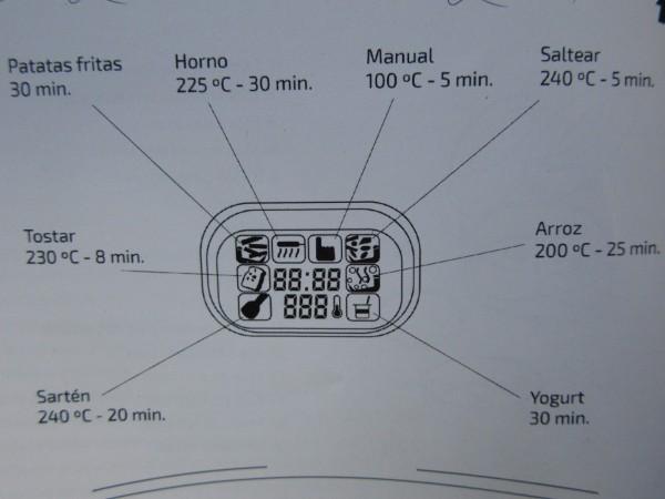 Turbo Cecofry 4D- Recetas Ana Sevilla