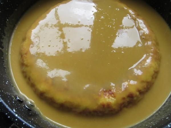 Tortilla guisada en salsa española Thermomix