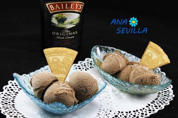 Helado de baileys y chocolate thermomix