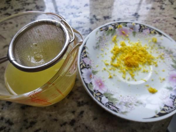 Mousse de limón y yogurt Thermomix