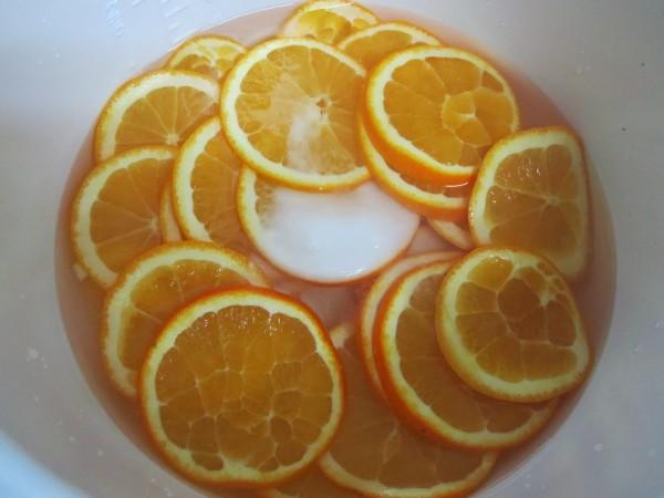 Naranjas confitadas olla GM.