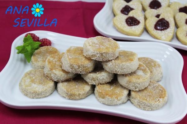 Galletas de canela, Bocaditos de canela Ana Sevilla cocina tradicional