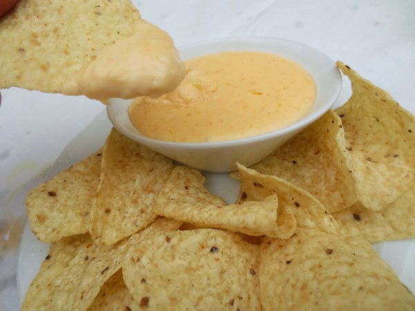 Salsa de queso para dipear Thermomix