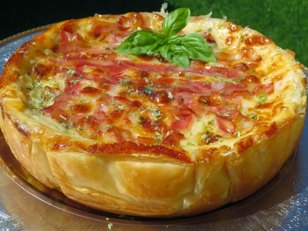 Quiche de croque-pizza Ana Sevilla olla GM