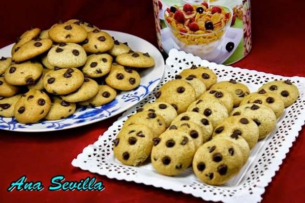 Cookies integrales sin huevo Ana Sevilla cocina tradicional