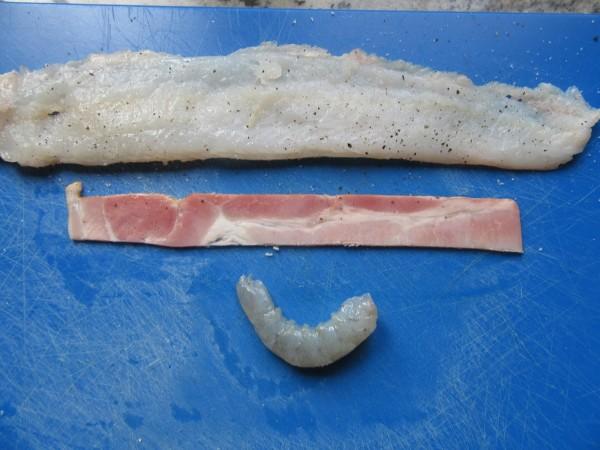 Popietas de lenguado rellenas de langostinos con Thermomix
