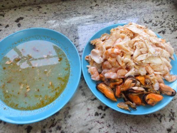 Sopa de pescado olla GM