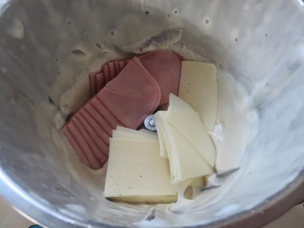 Sandwich de calabacín Thermomix