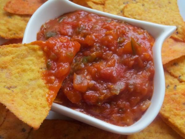 Salsa mexicana para dipear Ana Sevilla cocina tradicional