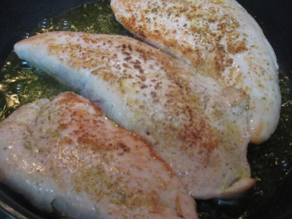 Solomillo de pavo en salsa de ajos Thermomix