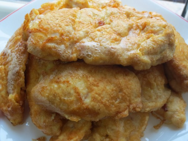 Filetes de pechuga en salsa olla GM