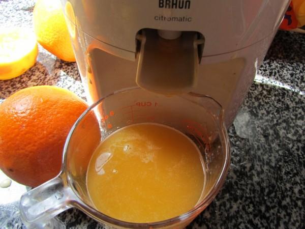 Helado de naranja con Thermomix