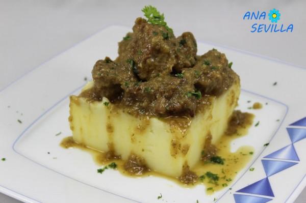 Carne guisada de mamá Ana Sevilla cocina tradicional