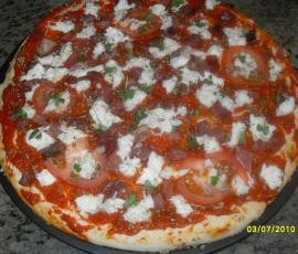 Pizza Margarita con thermomix