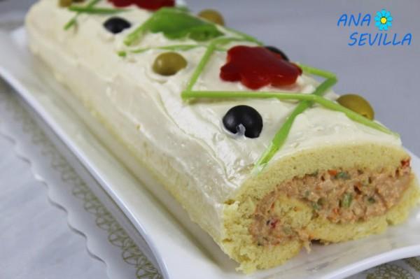 Pastel frío Bocadelia cocina tradicional Ana Sevilla