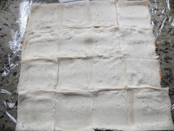 Pastel frío de pan de molde Thermomix