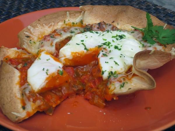 Huevos rancheros Ana Sevilla cocina tradicional