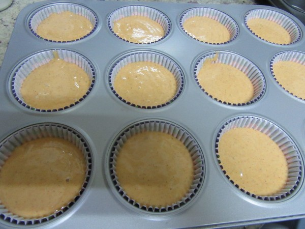 Cup cakes de calabaza con Thermomix