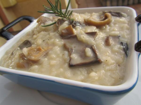 Risotto de setas secas Ana Sevilla cocina tradicional