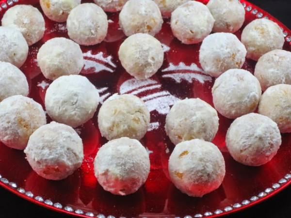 Polvorones copos de nieve Ana Sevilla cocina tradicional