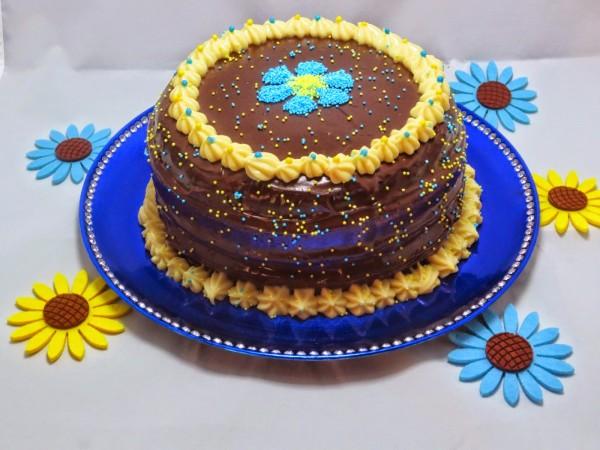 Tarta de crema y chocolate Thermomix