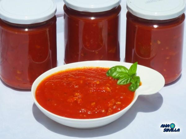 Salsa de tomate especial pasta Ana Sevilla olla GM