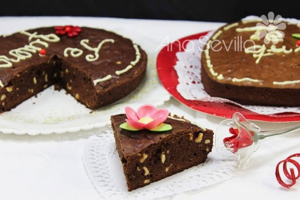 Brownie de crema de avellanas olla Gm